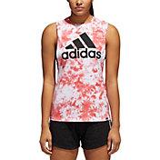 adidas Women's Tie-Dye Festival Muscle Tank Top