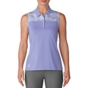 adidas Women's Ultimate365 Merch Sleeveless Golf Polo