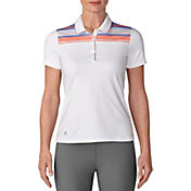adidas Women's Ultimate365 Merch Stripe Golf Polo