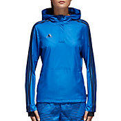 adidas Women's Tango Half Zip Windbreaker Jacket