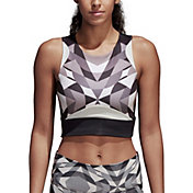 adidas Women's Wanderlust Yoga Crop Tank Top
