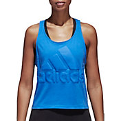 adidas Women's Sport ID Cropped Tank Top