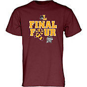Blue 84 Men's Loyola Chicago Ramblers Maroon 2018 Final Four Basketball Scarf T-Shirt