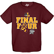 Blue 84 Youth Loyola Chicago Ramblers Maroon 2018 Final Four Basketball Scarf T-Shirt