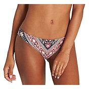 Billabong Women's Blissed Out Reversible Lowrider Bikini Bottom