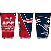 Boelter AFC Conference Champions New England Patriots 16oz. Pint Glass