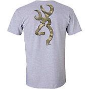Browning Men's Beveled A-TACS Buckmark Short Sleeve T-Shirt