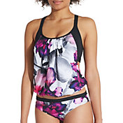 CALIA by Carrie Underwood Women's Pattern 2-in-1 Tankini