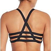 CALIA by Carrie Underwood Women's Tri-Strap Swim Top