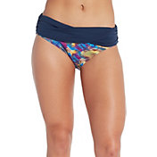 CALIA Women's Pattern Overlap Swim Bottom