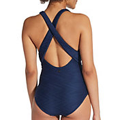 CALIA by Carrie Underwood Wrap Crossback Swimsuit