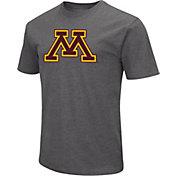 Colosseum Men's Minnesota Golden Gophers Grey Dual Blend T-Shirt