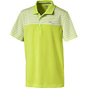 PUMA Boys' Clubhouse Jr. Golf Polo