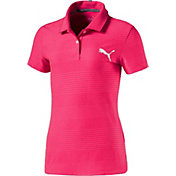 PUMA Girls' Aston Golf Polo