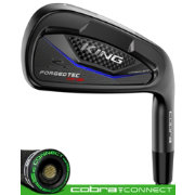 Cobra KING Forged Tec ONE Length Black Irons – (Steel)