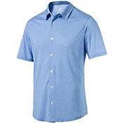 PUMA Men's Knit Golf Shirt