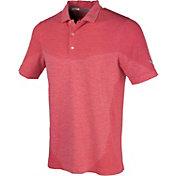PUMA Men's Evoknit Block Seamless Golf Polo