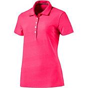 PUMA Women's Aston Pounce Golf Polo