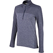 PUMA Women's Evoknit Seamless ¼ Zip Golf Pullover