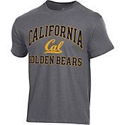 Champion Men's Cal Golden Bears Grey Ring Spun T-Shirt