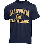 Champion Men's Cal Golden Bears Blue Ring Spun T-Shirt