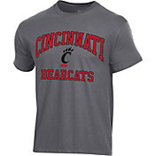 Champion Men's Cincinnati Bearcats Grey Ring Spun T-Shirt