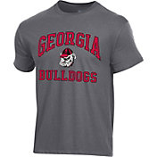 Champion Men's Georgia Bulldogs Grey Ring Spun T-Shirt