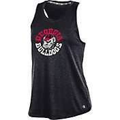 Champion Women's Georgia Bulldogs Epic Traverse Performance Black Tank Top