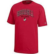 Champion Youth Georgia Bulldogs Red Jersey T-Shirt