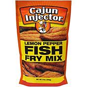 Cajun Injector Lemon Pepper Fish Fry Mix
