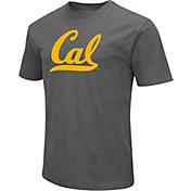 Colosseum Men's Cal Golden Bears Grey Dual Blend T-Shirt
