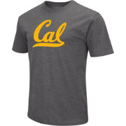 Colosseum Men's Cal Golden Bears Grey Dual Blend T-Shirt