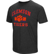 Colosseum Men's Clemson Tigers Grey Tri-Blend T-Shirt