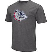 Colosseum Men's Gonzaga Bulldogs Grey Dual Blend T-Shirt