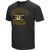 Colosseum Men's Missouri Tigers Grey Tri-Blend T-Shirt