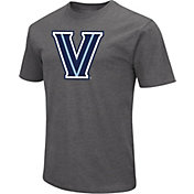 Colosseum Men's Villanova Wildcats Grey Dual Blend T-Shirt