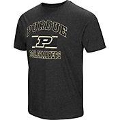 Colosseum Men's Purdue Boilermakers Grey Tri-Blend T-Shirt