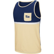 Colosseum Men's Pitt Panthers Blue/Gold Lollygaggers Tank Top