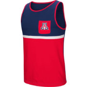 Colosseum Men's Arizona Wildcats Navy/Cardinal Lollygaggers Tank Top