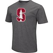 Colosseum Men's Stanford Cardinal Grey Dual Blend T-Shirt
