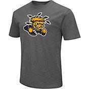 Colosseum Men's Wichita State Shockers Grey Dual Blend T-Shirt