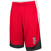 Colosseum Youth Wisconsin Badgers Red Hall of Fame Shorts
