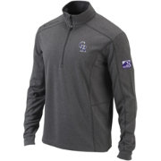 Columbia Men's Colorado Rockies 25th Anniversary Logo Shotgun Quarter-Zip Performance Pullover
