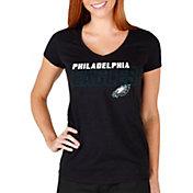 Concepts Sport Women's Philadelphia Eagles Block Out T-Shirt
