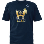 Dallas Cowboys Merchandising Men's Jason Witten #82 G.O.A.T Navy T-Shirt
