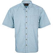 Drake Waterfowl Men's Featherlite Check Short Sleeve Button Down Shirt