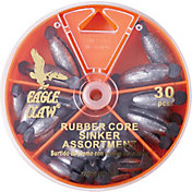 Eagle Claw 30-Piece Rubber Core Sinker Assortment