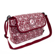 Eagles Wings Alabama Crimson Tide Quilted Cotton Messenger Bag