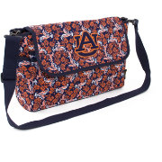 Eagles Wings Auburn Tigers Quilted Cotton Messenger Bag