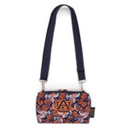 Eagles Wings Auburn Tigers Quilted Cotton Cross Body Wallet